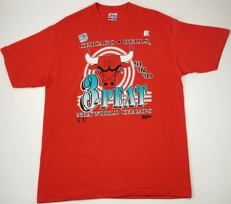 c81e1c7ad81d NEW with Stickers Deadstock Ds Vintage 90s Chicago Bulls 1991