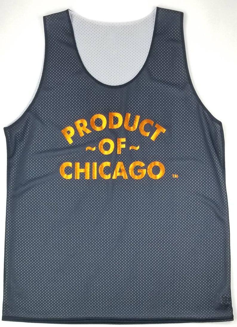 0ef8ff7d3167 NEW Original Product of Chicago Black Metallic Orange