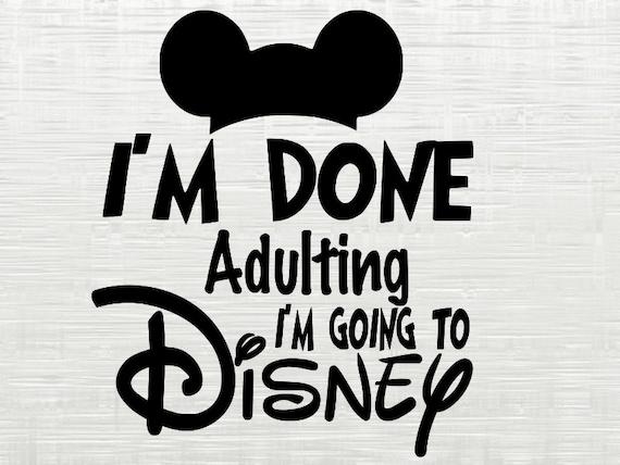 Disney Svg Disney Dxf Svg Files For Silhouette Cameo Etsy