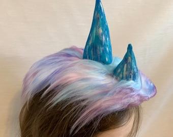 The Last Dragon Horns. Sisu Costume Horns Headpiece. Pengu. Amba. Jagan. Pranee.