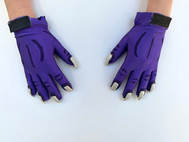 Purple dragon costume bodysuit Reignited. Custom spandex bodysuit