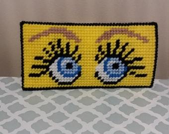 Eyes - eyeglass gase
