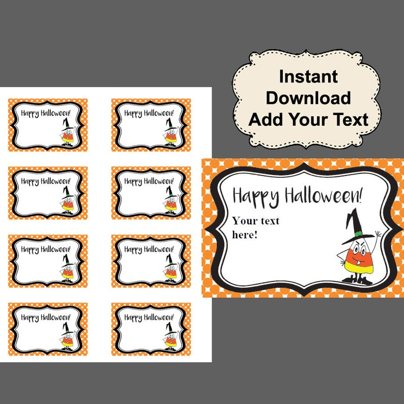 picture regarding Halloween Gift Tags Printable named Halloween Tags, Printable Tags, Present Tags, Printable reward tags, Halloween present tags, Deal with bag tags, Halloween Like Tags, Satisfied Halloween
