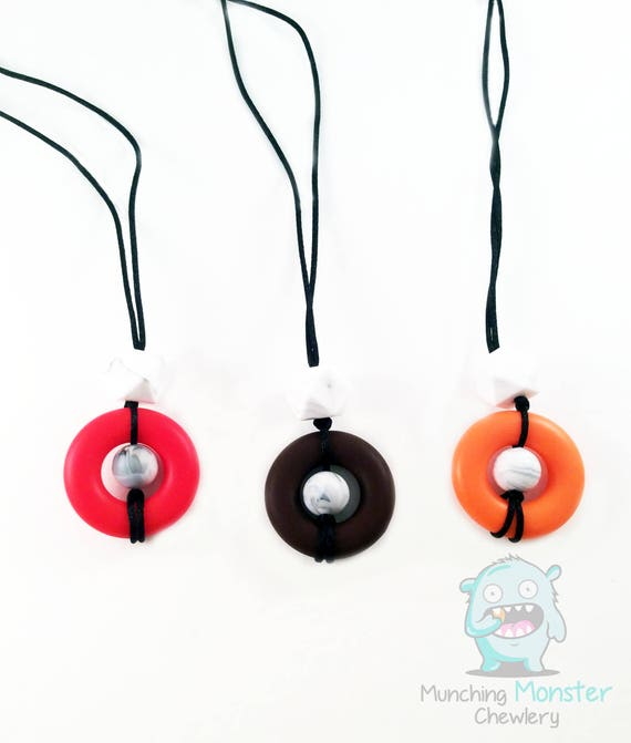 Donut Child's Necklace