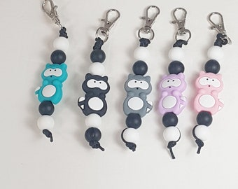 Raccoon Zipper pulls