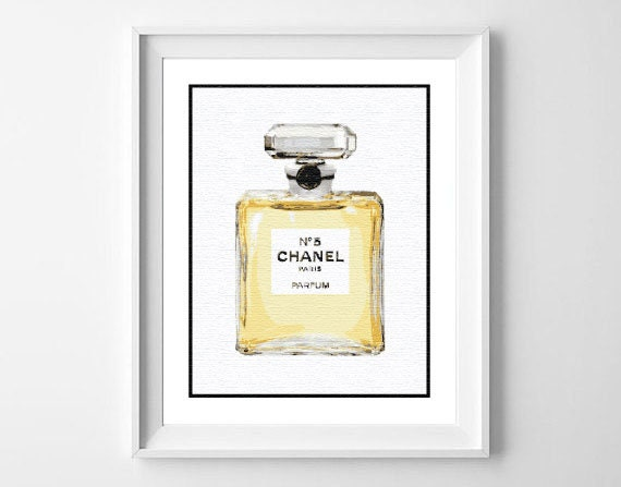image relating to Chanel Printable identified as Chanel Print / Chanel Printable / Artwork example Print /Wall Artwork / Property Decor / Chanel Poster / Typo Artwork / Typography / Black White