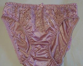Silky Hipster Bikini Panties by Jintana Lingerie (size 10 Aus/UK & 5/US)