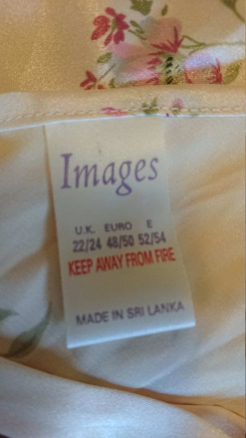 Camisole by Images Lingerie size 2224 AusUK /& 44-46US