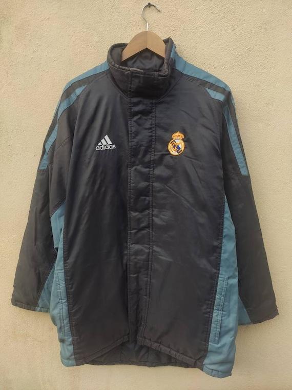 Adidas Jacket Real Madrid Football team rain coat