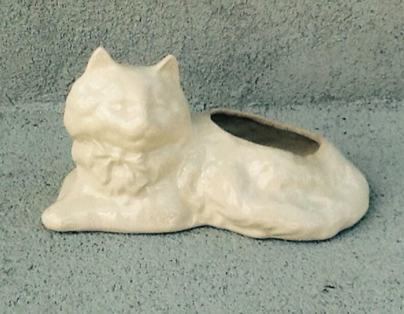 jardinière en chat nostalgique//vintage chat | etsy