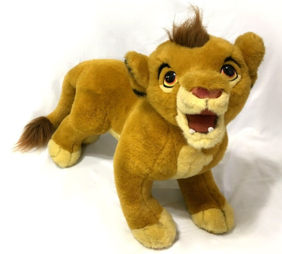 Douglas Cuddle Toys Simba Large 30 Disney Lion King Etsy