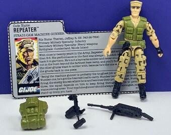 GI Joe 1983 Gung Ho Backpack.