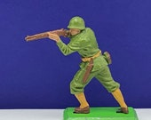 BRITAINS TOY SOLDIERS Deetail 1971 England uk metal plastic miniature vintage vtg mcm world war 2 two ww2 wwii american sniper rifle