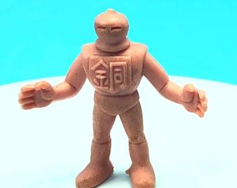 1985 VINTAGE M.U.S.C.L.E muscle man men wrestling wrestler action figure Mattel anime flesh color toy #10 Jessie Maybia knight helmet boy