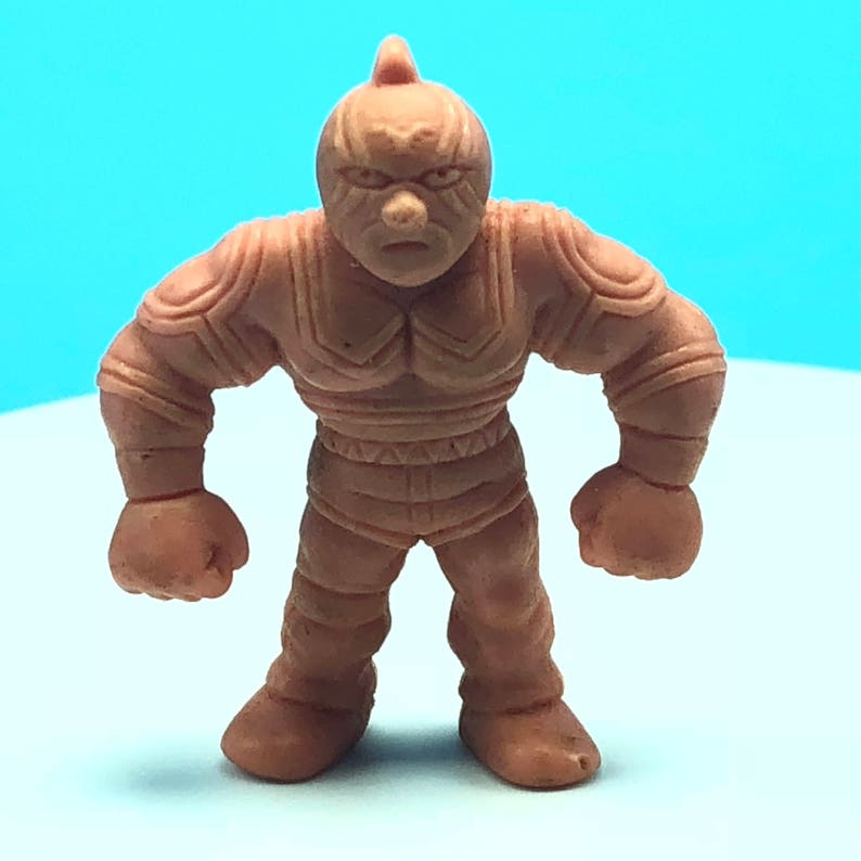 muscle man men wrestling wrestler action figure Mattel anime flesh color toy Kinnikuman #113 A super phoenix 1985 VINTAGE M.U.S.C.L.E