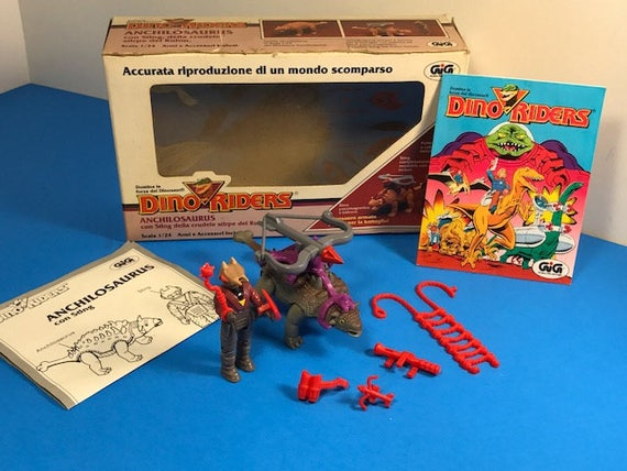 Dino-Riders Tyco 1987 Dino Riders Action Figures From 2-Packs MULTI-LISTING