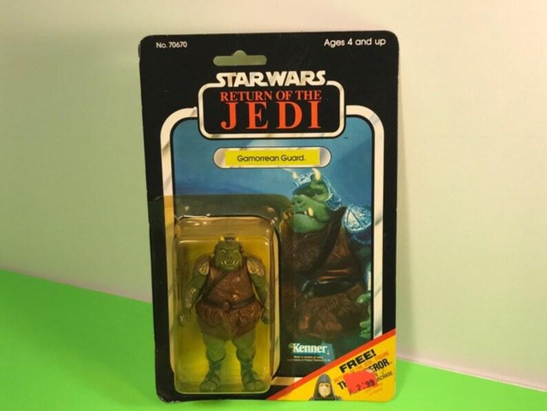 1983 Kenner Gamorrean Guard Star Wars Return Of Jedi Vintage Etsy
