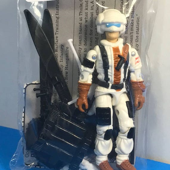 GI Joe Weapon Blizzard Helmet 1988 Original Figure Accessory