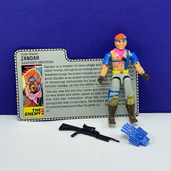 G.I Joe//Cobra/_1985 Barbecue Back Pack//Weapon//Accessory!!!