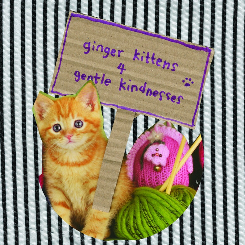 Ginger kitten greetings cards set of 3 image 1