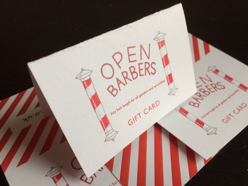 Open Barbers Haircut Voucher image 0