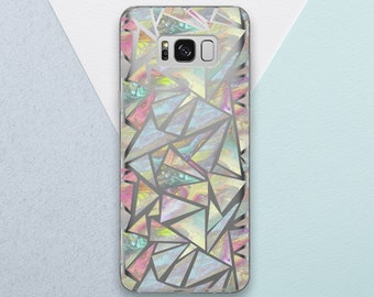 Opal Marble Phone case for Samsung Galaxy s9 case Galaxy s9 plus case Marble Galaxy s8 case Marble Galaxy s7 case Galaxy note 8 case OC_245