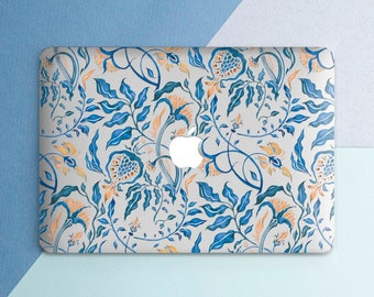 Blue macbook case   Etsy