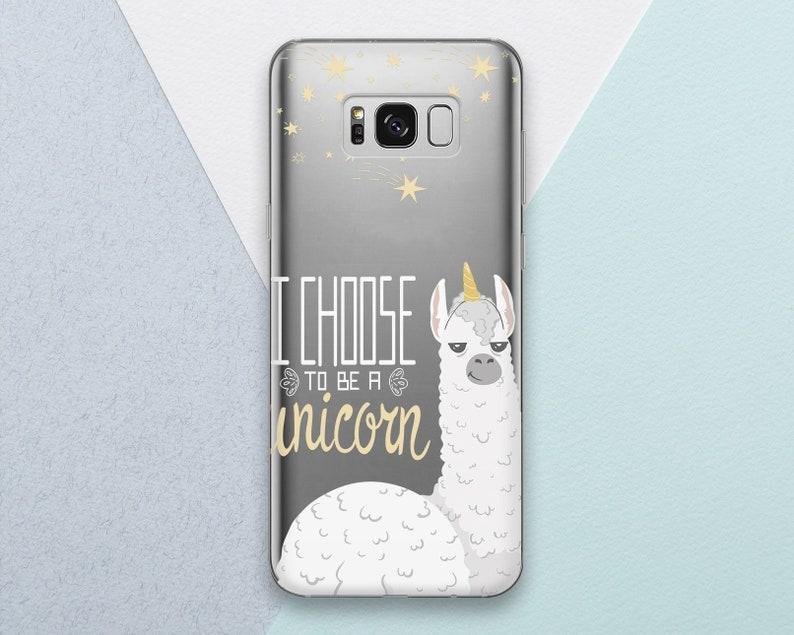 huge selection of 04923 ecc41 Llama Phone case for Samsung Galaxy s9 s8 s7 s9 Plus s8 Plus Note 9 8 Cute  Funny Animal Quote Alpaca Girly Unicorn Samsung s9 s8 s7 Edge s6