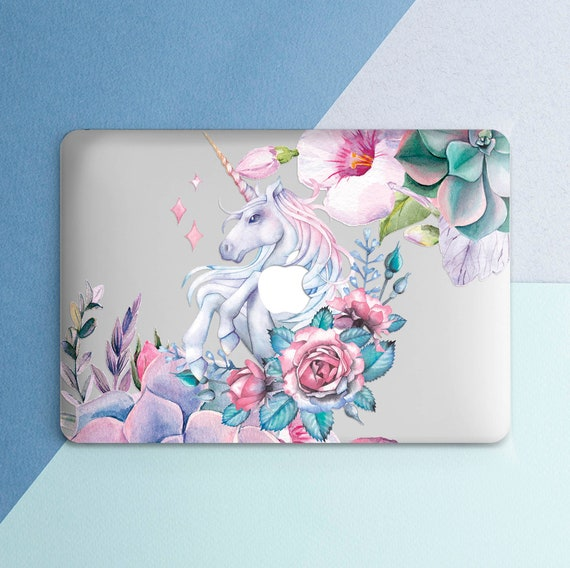 Macbook case unicorn macbook case pink