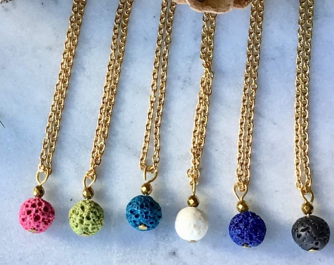 chain for women gold Hematite stone diffuser for the mother pendant back that look descent, Christmas party, Christmas gifts