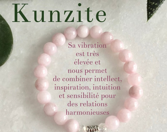 140 Kunzite pink bracelet, kunzite rainbow jewelry bracelet kunzite lilac, jewelry boho chic kunzite bracelet benefits Mala