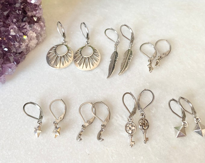 7 days of earrings