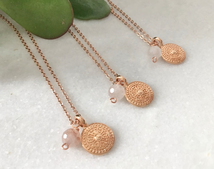 Chain rose gold