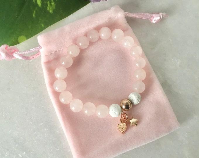 Bracelet gils pink yellow