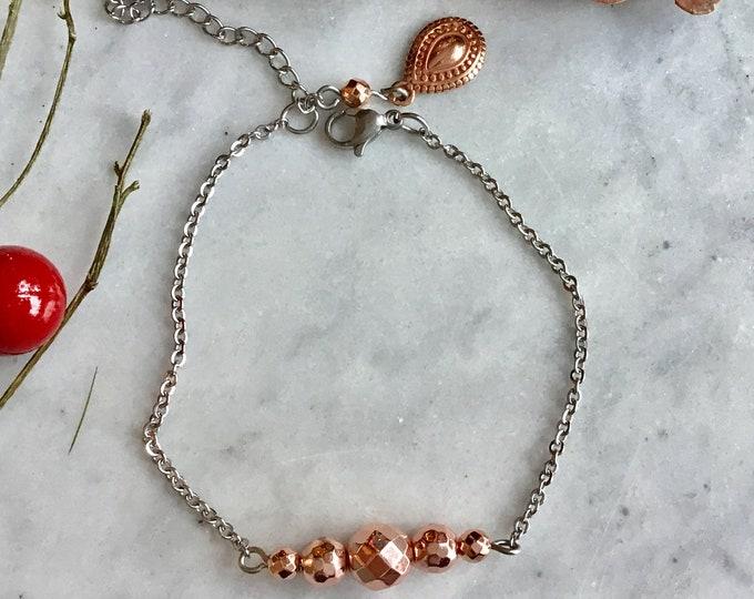 2018 christmas gift bracelet woman bracelet, avent calendars, burgundy essential oil diffuser bracelet, black white bracelet