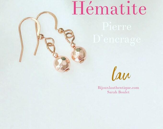 Pink jewelry hématite