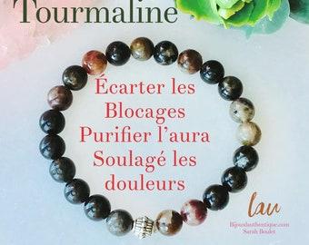 Bracelet tourmaline black