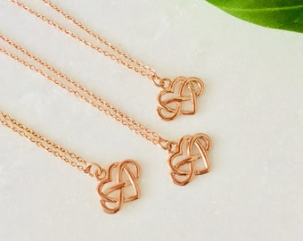 Chain pink gold 14k