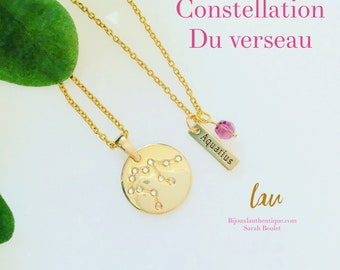 Constellation capricorne, chaine or