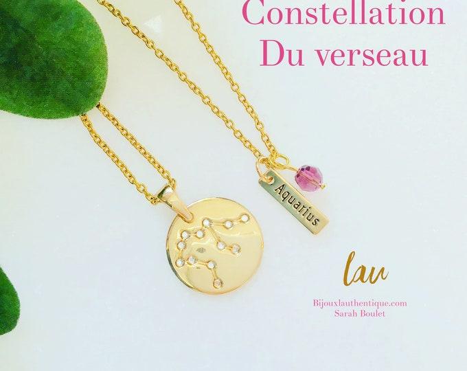Constellation capricorne, chaine or