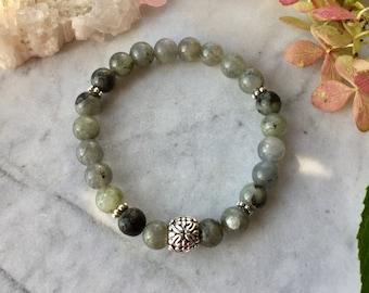 Labradorite stones,