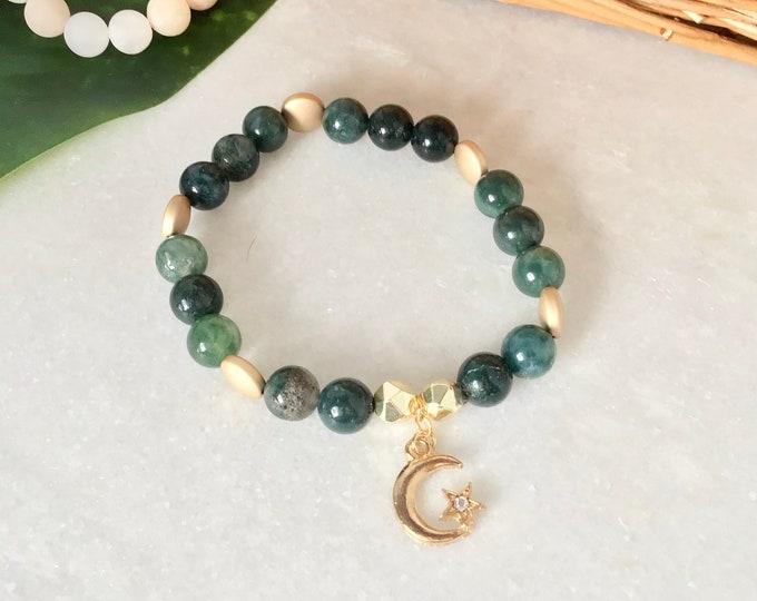 French Hide Set of 5 bracelets, zebra jasper, elephant tassel jewelry, pink matte aventurine jewelry, clear cracked quartz, jasper kiwi