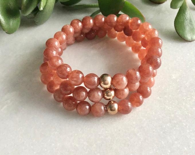 Cornaline stone bracelet