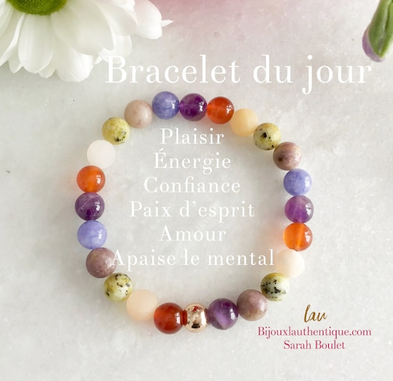 Bracelet jewelry woman moonstone, lava stone white, bracelet for pregnant woman, gift for woman shower, rose quartz bracelet,