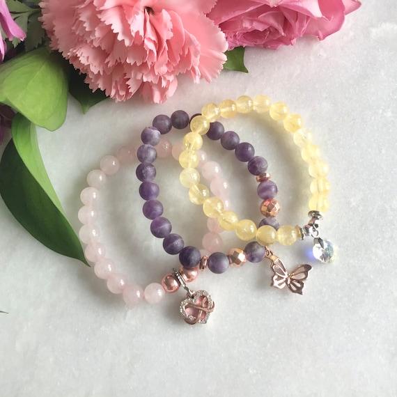 Turquoise Bracelet, Woman Girl Gift, Mala Meditation Yoga, Hippies, Bohemian, Peace Love Jacket, Gift, Aniversary