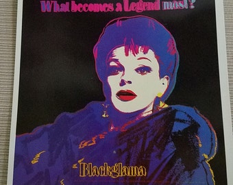 Judy Garland Blackama Postcard