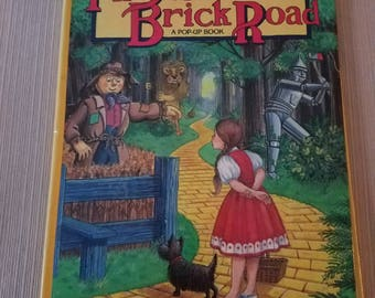The Yellow Brick Road Pop up Book