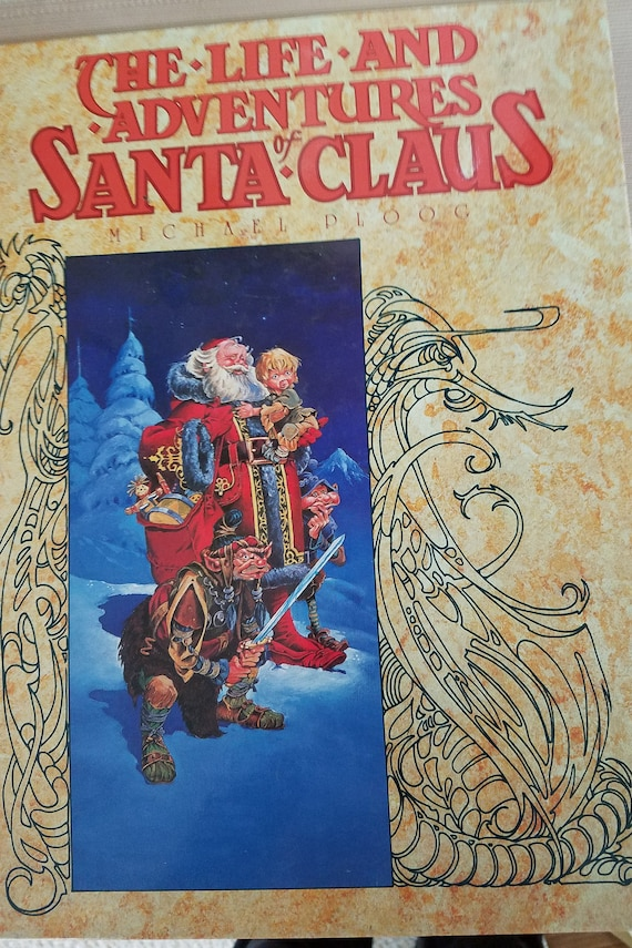 Baums Life And Adventures Of Santa Claus Graphic Novel Etsy
