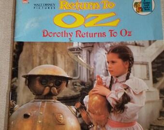 Return to Oz Golden Book - Paperback
