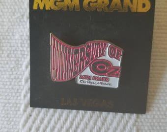 MGM Grand University of Oz  Metal Pin